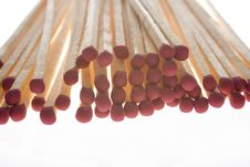 Free Close Up To Bunch Of Wooden Matches Royalty Free Stock Photos - 6293408