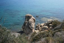 Free A Rock In Paphos Royalty Free Stock Image - 6293616