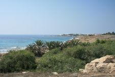 Free A Sea Side Area In Paphos Royalty Free Stock Images - 6293769