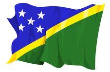 Free Flag Series: Solomon Islands Royalty Free Stock Photos - 6293878
