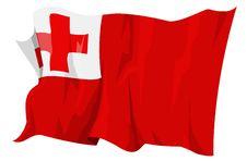 Free Flag Series: Tonga Stock Photography - 6293882