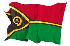 Free Flag Series: Vanuatu Stock Photos - 6293883