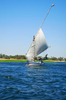 Free Boat On The Nile River Stock Image - 6293981