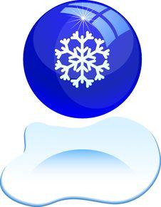Free Beautiful Snowflake. Royalty Free Stock Photography - 6294487