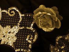 Free Gold Rose Stock Image - 6294621