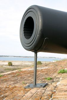 Free Close Up Of A Cannon Gun Royalty Free Stock Photos - 6294698