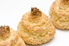 Free Coconut Cookies Royalty Free Stock Image - 6294776