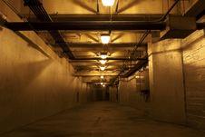Underground Hallway Royalty Free Stock Image