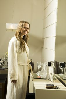 Free Woman In Robe Stock Photos - 6295633