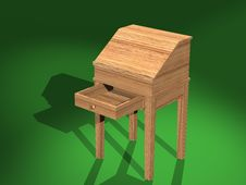 Free Shaker Desk V03 Stock Photos - 6295653