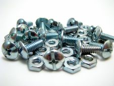Free Nuts And Bolts Stock Photo - 6295680