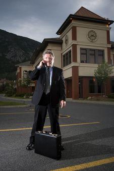 Free Generic Business Man On Phone Stock Photo - 6295810