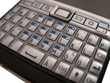 Free Cellphone Keys Stock Photography - 6296022