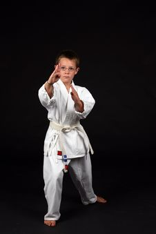 Free Traditional Karate Student Royalty Free Stock Photos - 6296038