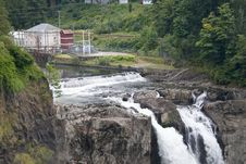 Free Snoqualmie Falls Hydroelectric Plant Royalty Free Stock Photo - 6296225