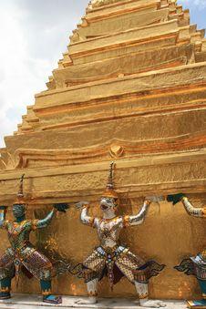 Free Grand Palace, Bangkok, Thailand Royalty Free Stock Photo - 6296275