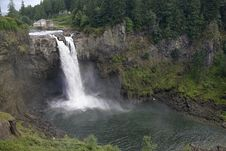 Free Snoqualmie Falls And Hydroelectric Plant Royalty Free Stock Photos - 6296648
