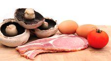 Free Breakfast Ingredients Stock Image - 6297151