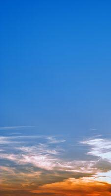 Free Surprisingly Beautiful Sunset. Royalty Free Stock Photos - 6297188