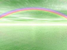 Rainbow Landscape Stock Photos