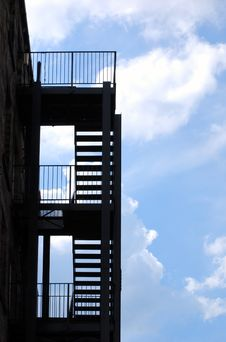 Free Fire Escape Royalty Free Stock Image - 6297256