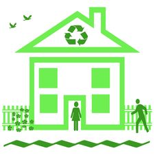 Recycle At Home Royalty Free Stock Photography