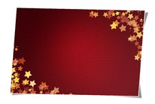 Free Card With Stars Stock Images - 6298624
