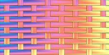 Free Pattern From Woven Pastel Colours Royalty Free Stock Images - 6298749