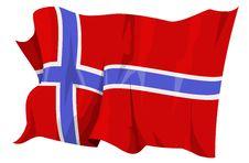 Free Flag Series: Norway Stock Photos - 6298763