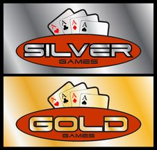 Free Silver & Gold.cdr Royalty Free Stock Photography - 6299127