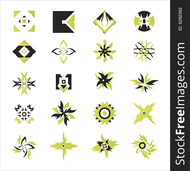 Vector icons - elements 22