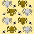 Free Spider And Fly Royalty Free Stock Photography - 635737