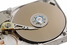 Free Close Up Of A Computer Hard Drive Internal Stock Photography - 630422