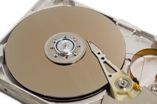 Free Close Up Of A Computer Hard Drive Internal Stock Photos - 630423