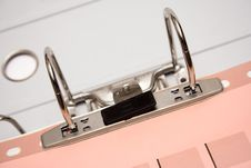 Free Arch Lever File (Close Top View) Royalty Free Stock Images - 631629