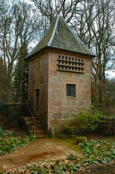 Free Crathes Castle Dovecote Stock Photography - 632442