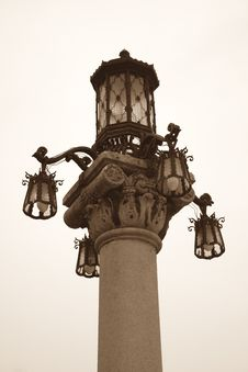 Free Street Lamp Royalty Free Stock Photo - 632625
