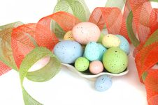 Free Colorful Easter Eggs Stock Photo - 632880