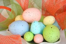 Free Colorful Easter Eggs Stock Photography - 632882