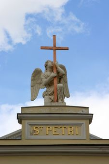 Free Saint Peter Statue Royalty Free Stock Photos - 633058