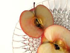 Free Apple Sliced Royalty Free Stock Photo - 633565