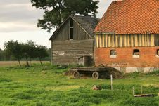 Free Old Barns Stock Photography - 634502