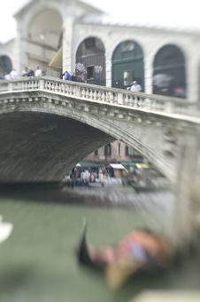 Free Rialto Bridge Royalty Free Stock Photos - 635448