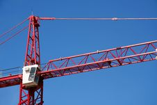 Free Construction Crane Royalty Free Stock Photos - 636098