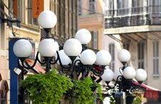 Free Street Lamps Royalty Free Stock Photography - 637167