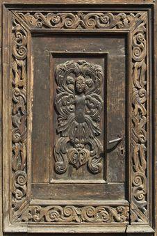 Free Handcrafted Door Stock Images - 637584
