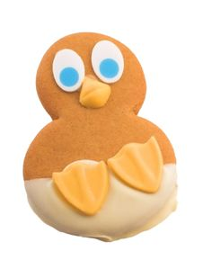 Gingerbread Chick Royalty Free Stock Images