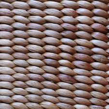 Free Woven Basket Texture Stock Photography - 638002