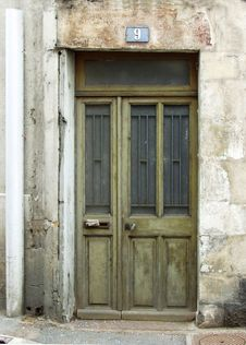 Free Old Door Royalty Free Stock Image - 638076