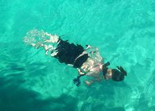 Free Snorkeling Royalty Free Stock Images - 638079